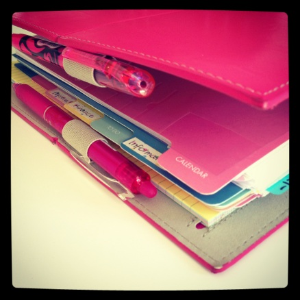 Using a Filofax for Getting Things Done