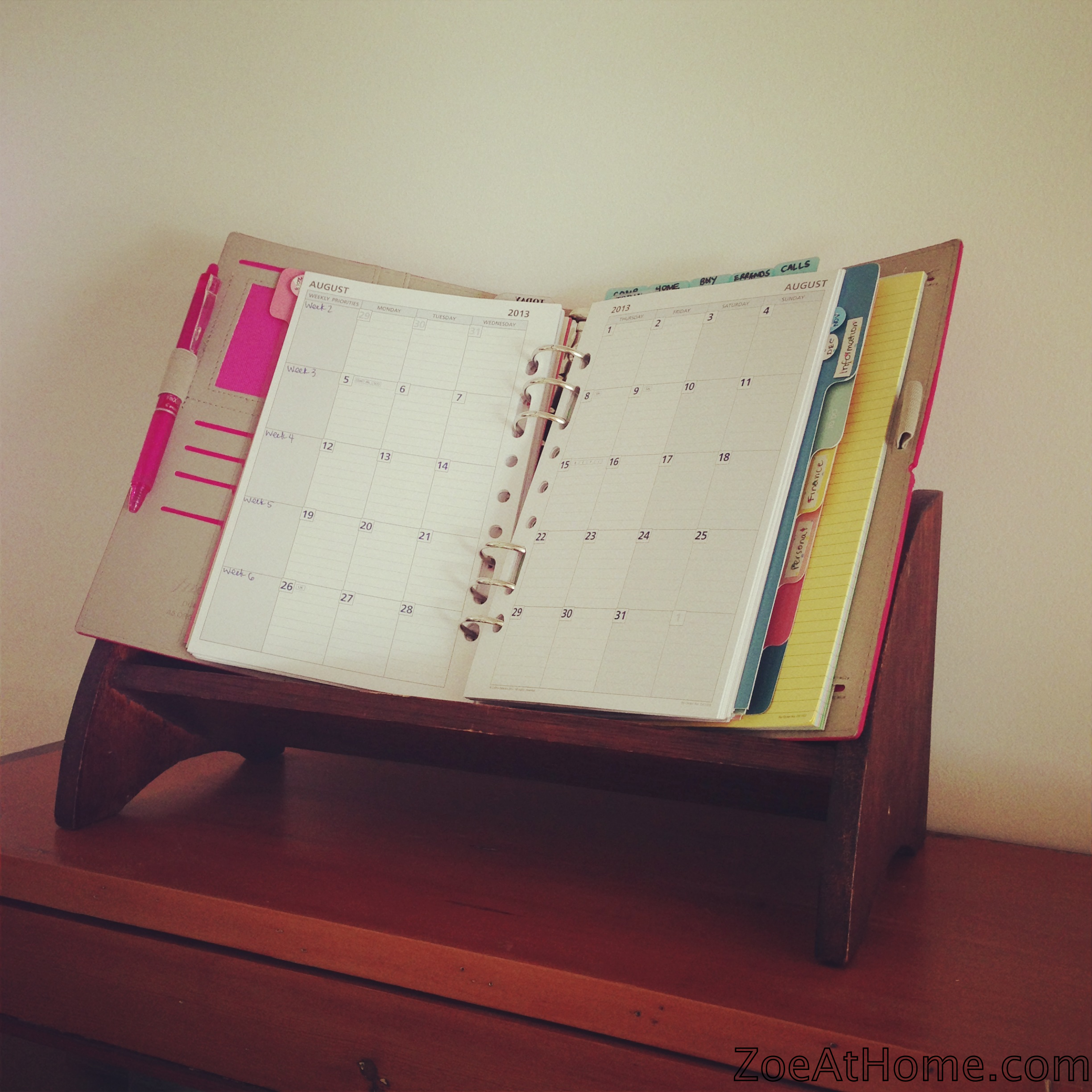 Diy Calendar Notebook : Easy peasy home management binder or diy planner