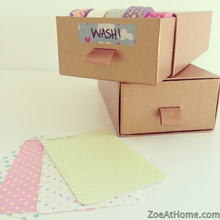 How to store washi tape Zoe at Home