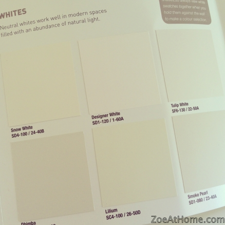 How to choose paint colour Zoe at Home