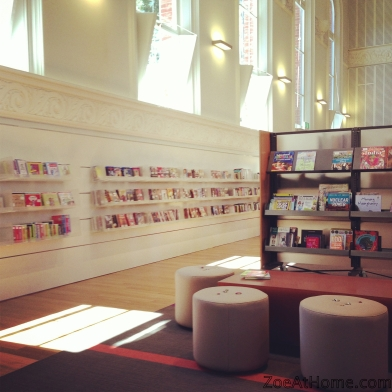Public design inspiration for private spaces: the library ZoeAtHome.com