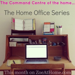 The Home Office Series ZoeAtHome.com