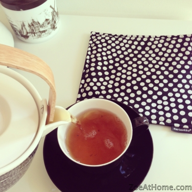 How to make tea ZoeAtHome.com