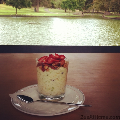 Bircher muesli with a view ZoeAtHome.com