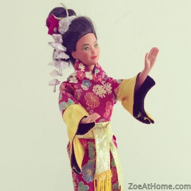 Vintage Japanese Oriental Barbie ZoeAtHome.com
