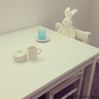 Make a play cafe in your child's bedroom ZoeAtHome.com