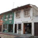 Shop facade UNESCO World Heritage site Antigua Guatemala ZoeAtHome.com