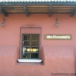 McDonald's exterior Antigua Guatemala The most beautiful fast food restaurant in the worldZoeAtHome.com