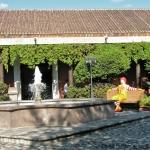 McDonald's courtyard Antigua Guatemala ZoeAtHome.com