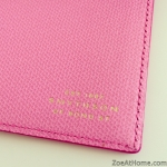 Smythson personalisation gold embossing ZoeAtHome.com