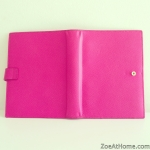 Smythson pink planner outside tour