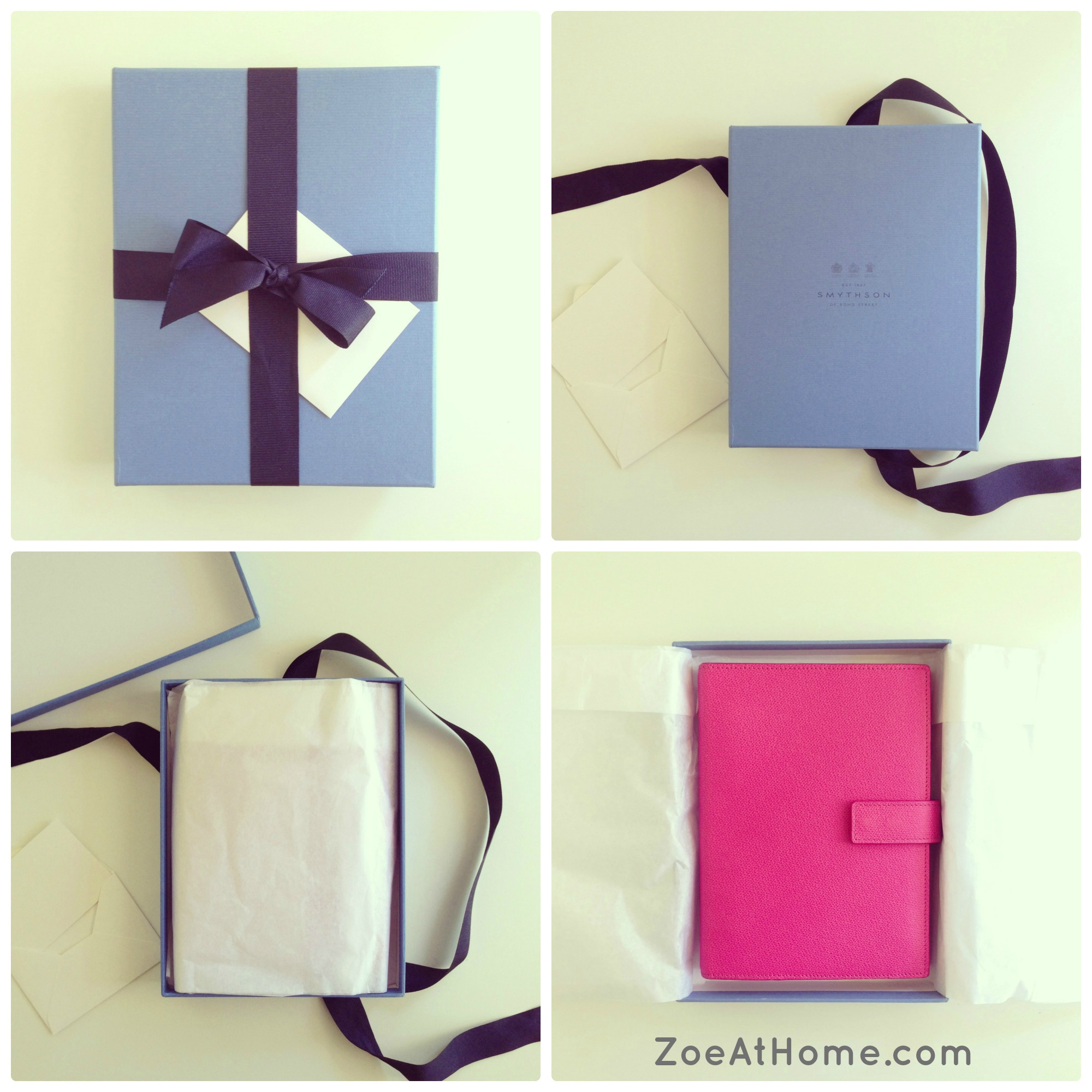 revealed my new pink smythson organiser zoeathome com