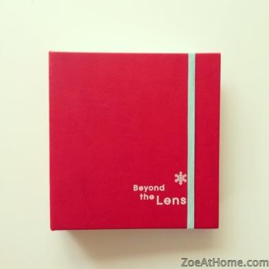 Project Life mini Christmas gift