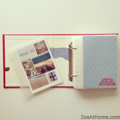 Project Life photo gift idea make gifts from your weekly layouts