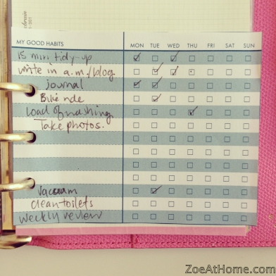How to keep track of daily routines