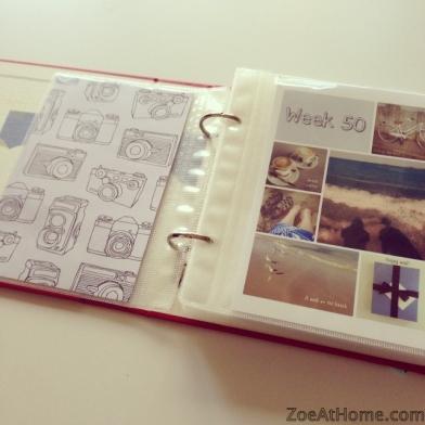 Project Life mini album binder