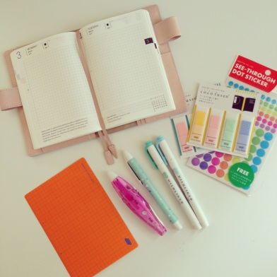 Hobonichi Planner accessories