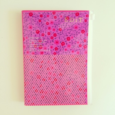 Review of Marks EDit storage.it day-per-page diary planner Japan pink B6