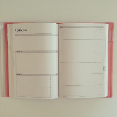 Mark's EDiT Monthly planning page