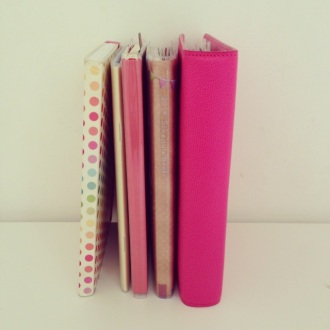 B6 notebooks and journals diaries planners