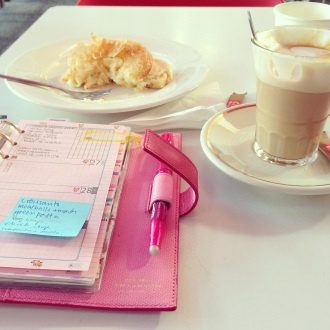 Coffee and planner me-time