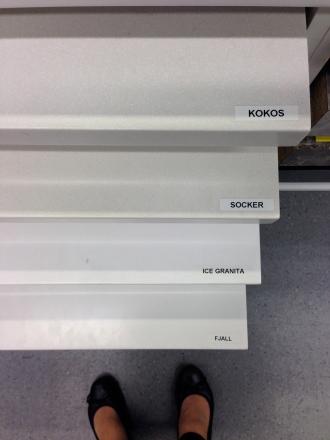 White scandinavian look kitchen renovations