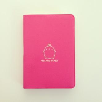My new Molang diary no more Filofax!