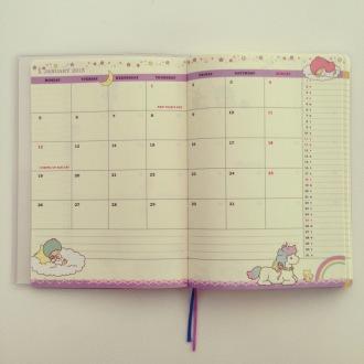 Sanrio schedule book hobonichi fauxbonichi photo a day