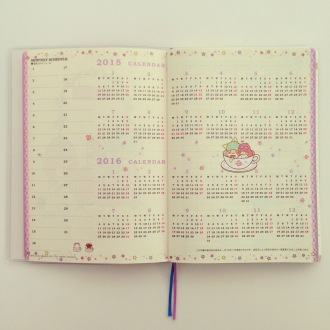 Schedule book Japan kawaii Japanese stationery